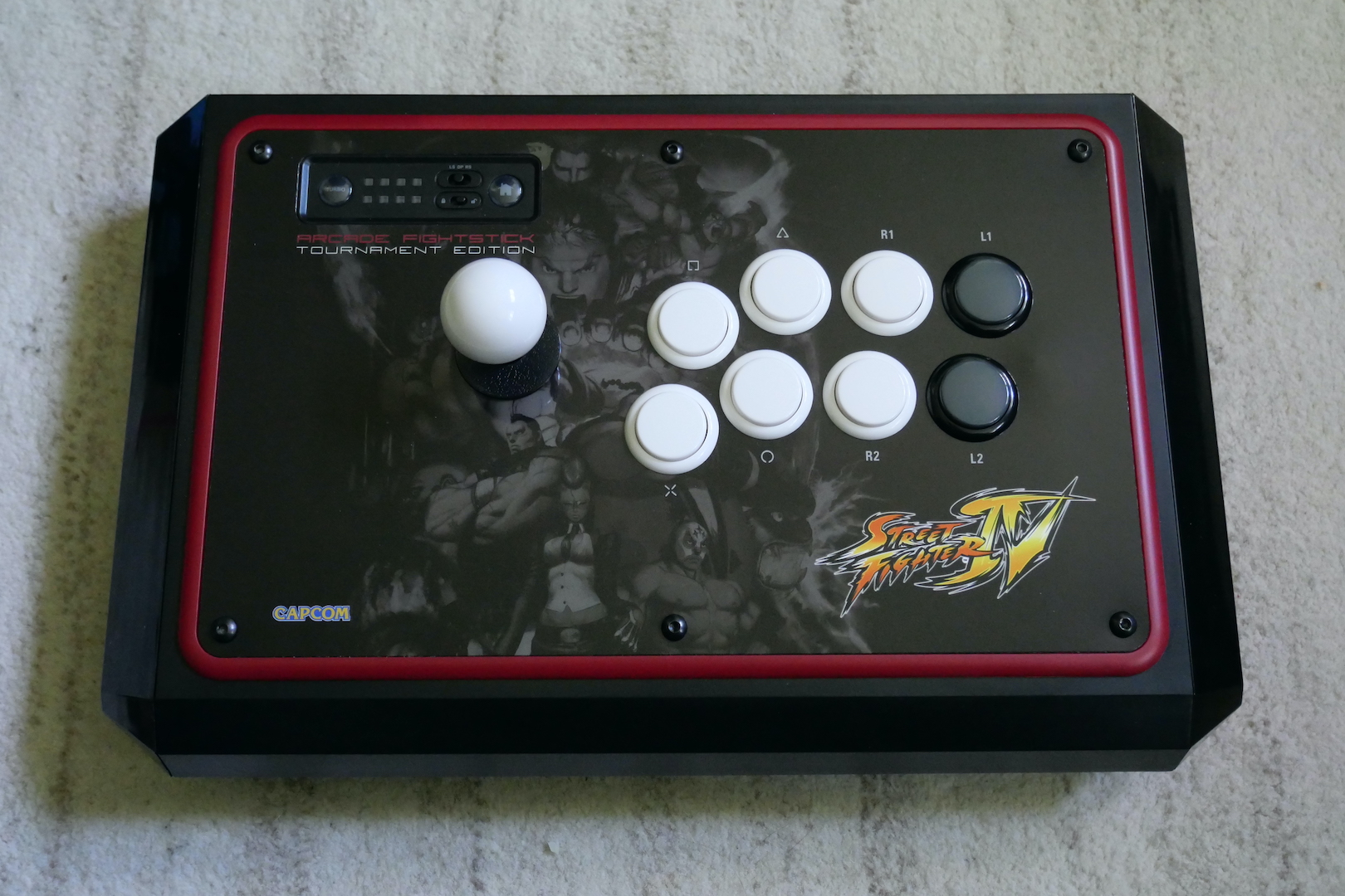 Fightstick Finished